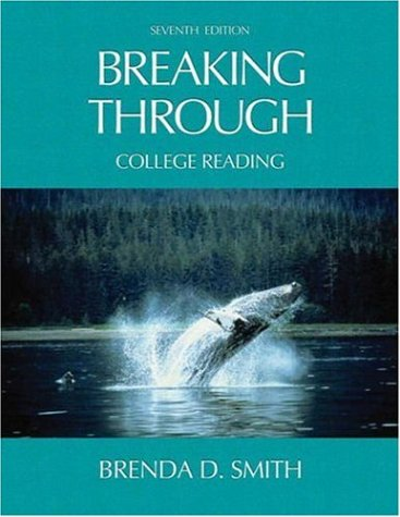 9780321146014: Breaking Through: College Reading (7th Edition)