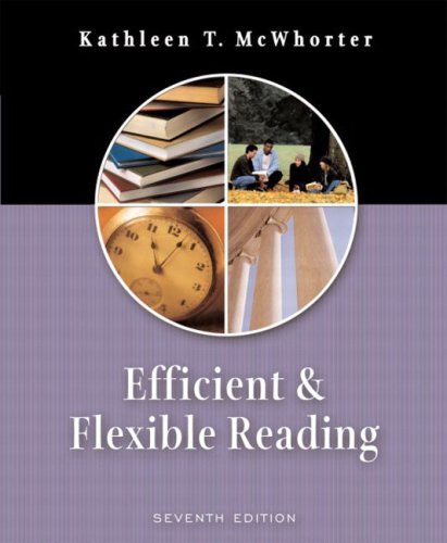 9780321146076: Efficient and Flexible Reading (7th Edition)