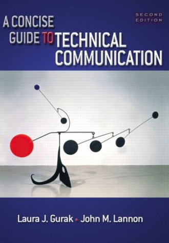 9780321146151: A Concise Guide to Technical Communication, Second Edition