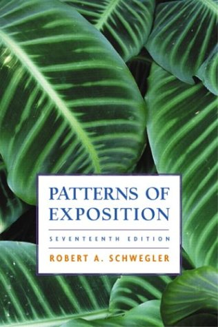 9780321146168: Patterns of Exposition (17th Edition)