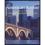 9780321149404: The American Nation, Vol. 2: A History of the United States Since 1865