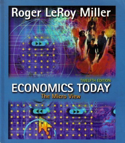 9780321150592: Economics Today: The Micro View