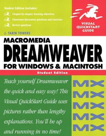9780321150707: Macromedia Dreamweaver MX for Windows & Macintosh, Student Edition