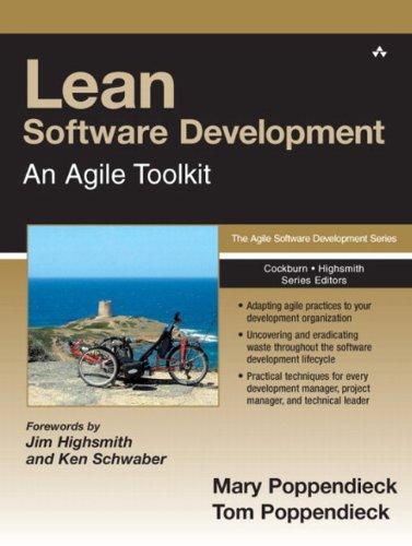 9780321150783: Lean Software Development: An Agile Toolkit