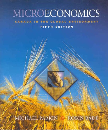 9780321154132: Microeconomics: Canada in the Global Environment