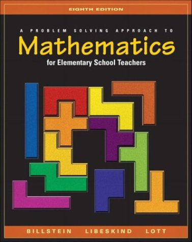 9780321156808: A Problem Solving Approach to Mathematics for Elementary School Teachers