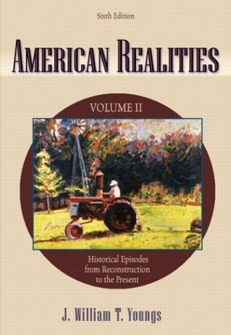 9780321157072: American Realities, Vol. 2, Sixth Edition