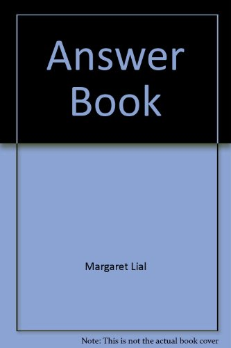9780321157133: Answer Book for Beginning Algebra, 9th Edition