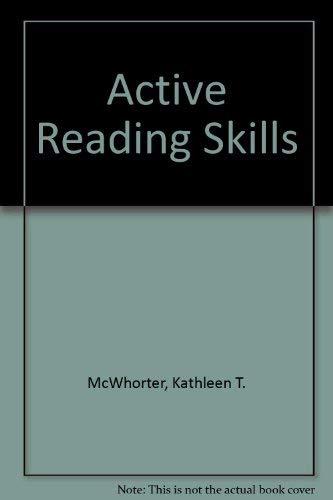 9780321159175: Active Reading Skills
