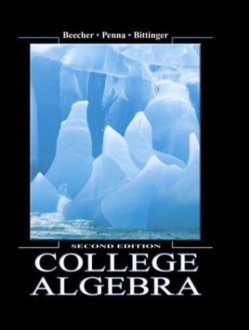 9780321159342: College Algebra (2nd Edition)
