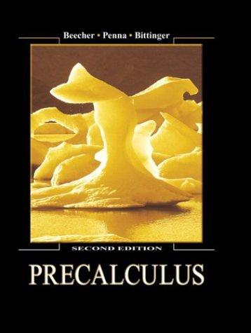 9780321159366: Precalculus (2nd Edition)