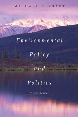 9780321159779: Environmental Policy and Politics, Third Edition
