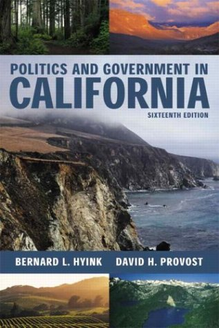 9780321159823: Politics and Government in California, 16th Edition