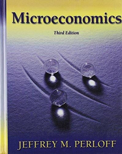 9780321160737: Microeconomics (The Addison-Wesley Series in Economics)
