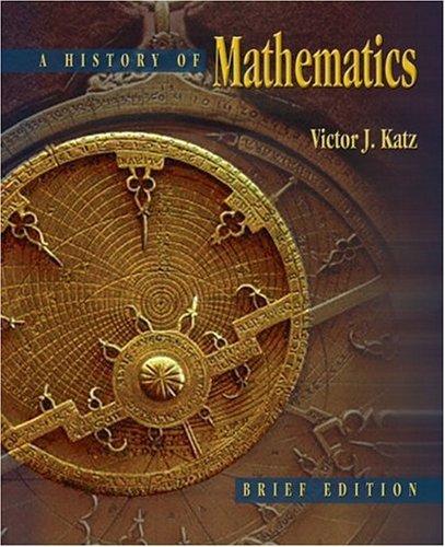 9780321161932: History of Mathematics: Brief Version