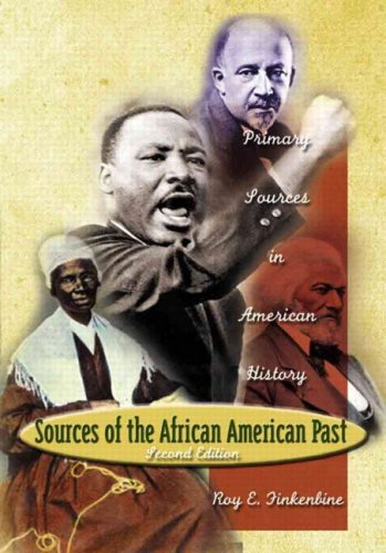 9780321162168: Sources of the African-American Past: Primary Sources in American History (2nd Edition)