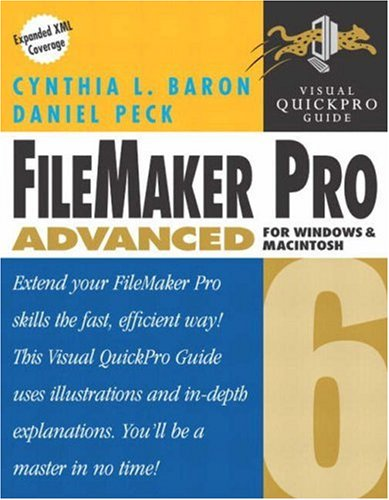9780321162199: FileMaker Pro 6 Advanced for Windows and Macintosh: Visual QuickPro Guide