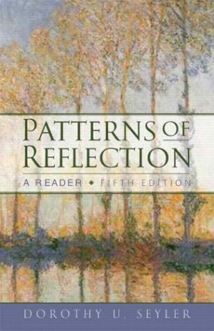 9780321165169: Patterns of Reflection: A Reader, Fifth Edition