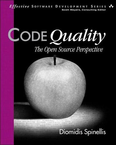 9780321166074: Code Quality: The Open Source Perspective