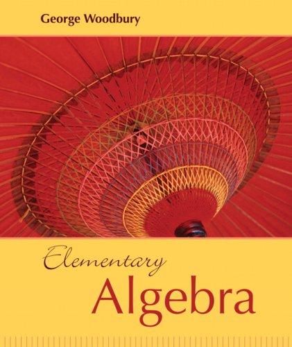 9780321166425: Elementary Algebra
