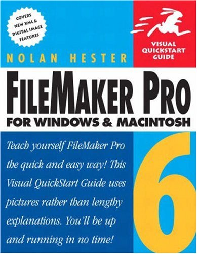 9780321167828: FileMaker Pro 6 for Windows & Macintosh