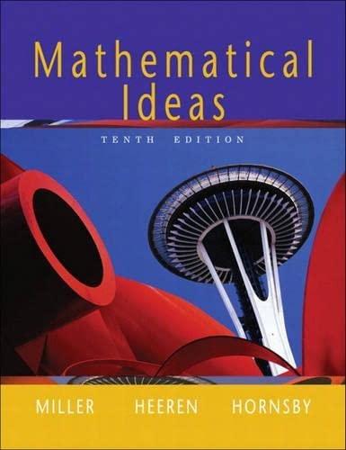 9780321168085: Mathematical Ideas