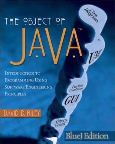 9780321168542: The Object of Java, BlueJ Edition