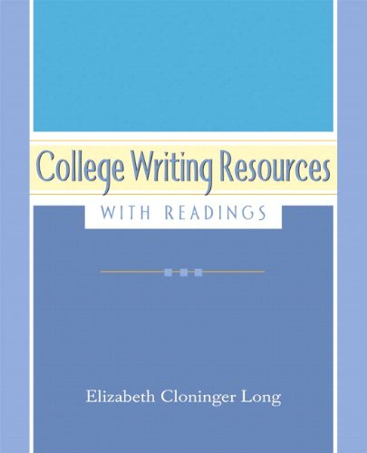 9780321172235: College Resources with Readings