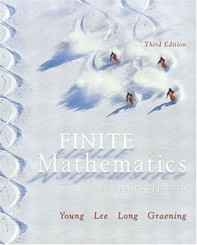 9780321173348: Finite Mathematics: An Applied Approach (3rd Edition)