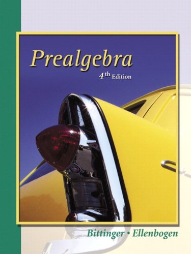 9780321173720: Prealgebra (Hardcover Edition) (4th Edition)