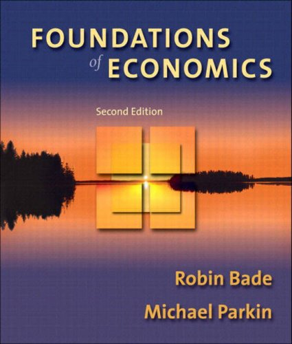 9780321178565: Foundations of Economics
