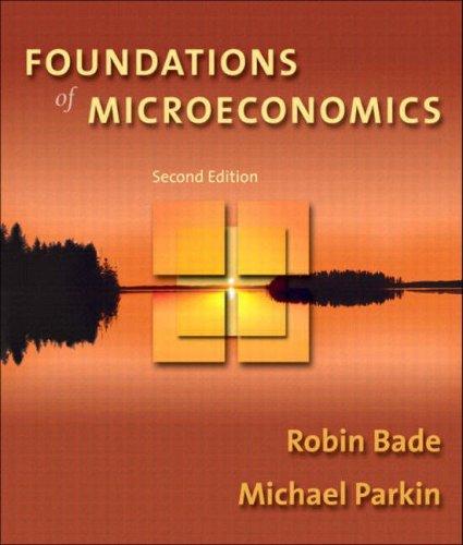 9780321178572: Foundations of Microeconomics