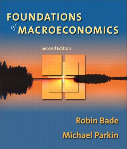 9780321178589: Foundations of Macroeconomics