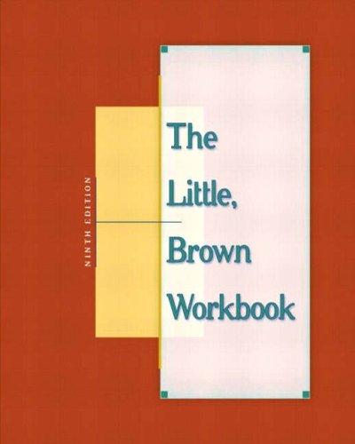 9780321179654: The Little Brown Workbook