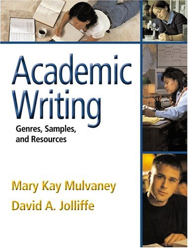 9780321179746: Academic Writing: Genres, Samples, and Resources