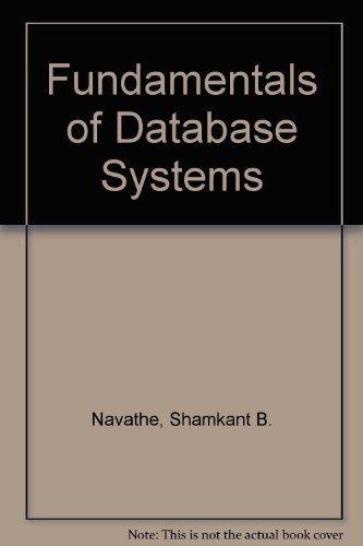 9780321180957: Fundamentals of Database Systems, Third Edition