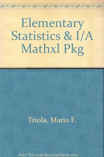 9780321182395: Elementary Statistics