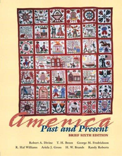 America Past and Present, Brief Edition, Single: Robert A. Divine,