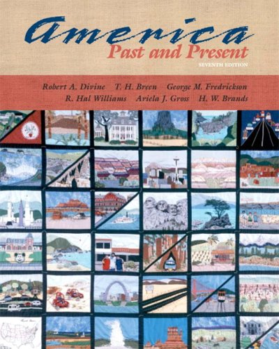 9780321183095: America Past and Present, Single Volume Edition (7th Edition)