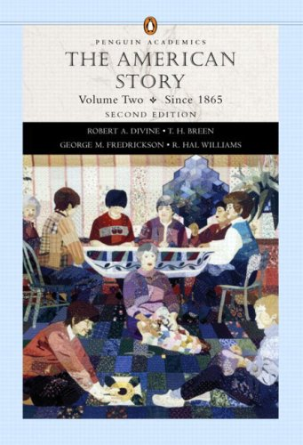 9780321183224: The American Story, Vol. 2: Since 1865