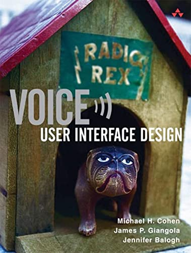 9780321185761: Voice User Interface Design