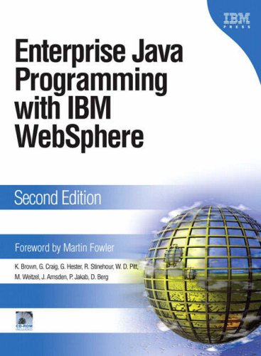 9780321185792: Enterprise Java Programming with IBM WebSphere