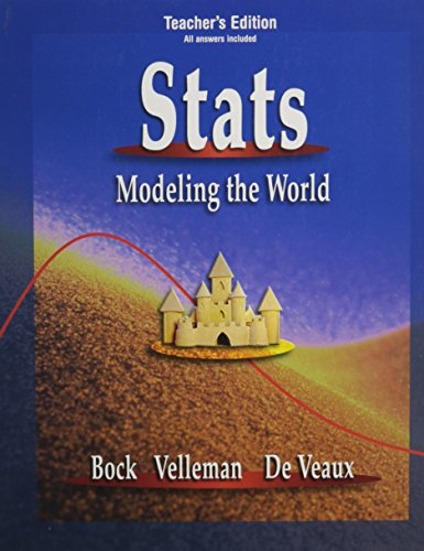 9780321186294: Stats Modeling the World