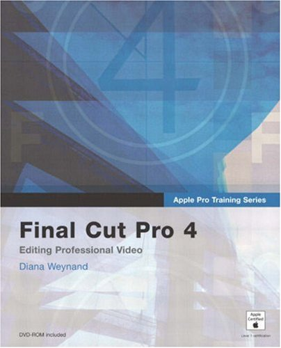 9780321186492: Apple Pro Training Series: Final Cut Pro 4