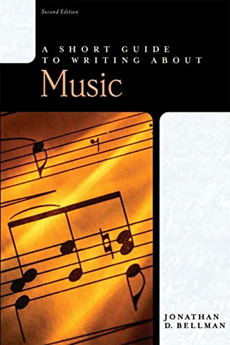 9780321187918: A Short Guide to Writing About Music (2nd Edition)