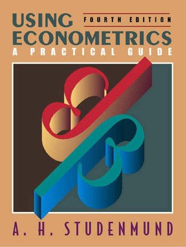 9780321188991: Using Econometrics: A Practical Guide (International Edition)