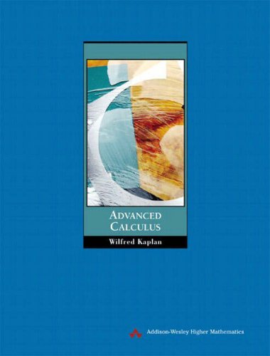 9780321189684: Advanced Calculus (Pie)