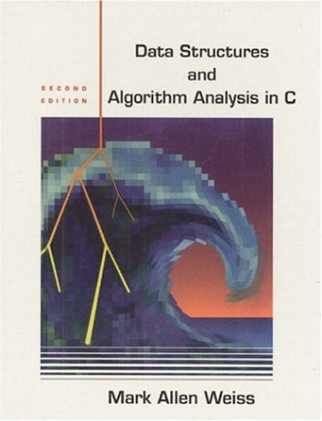 9780321189950: Data Structures and Algorithm Analysis in C: International Edition (Pie)