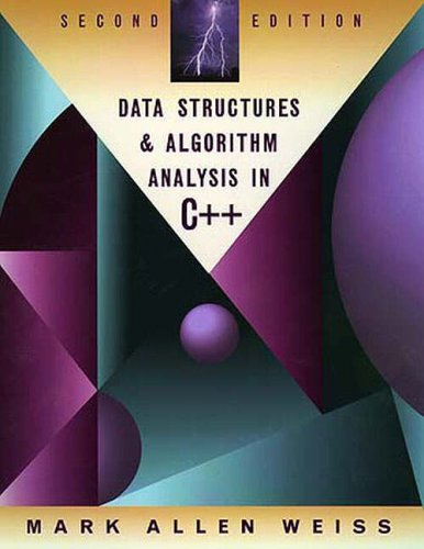 9780321189967: Data Structures and Algorithm Analysis in C++: International Edition