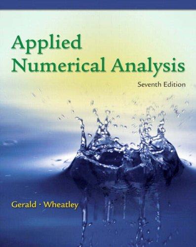 9780321190192: Applied Numerical Analysis: International Edition